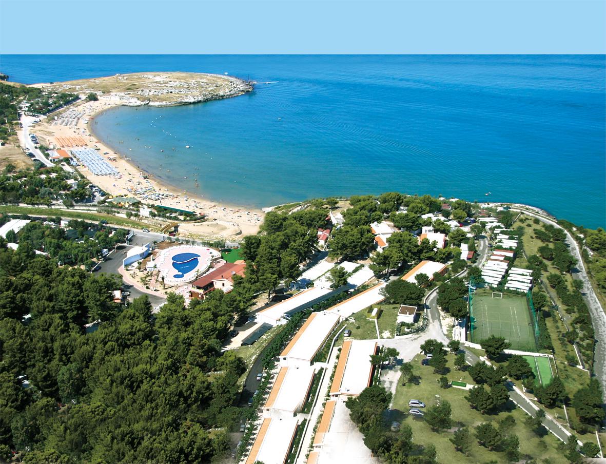 Villaggio sul mare a vieste nel gargano vacanze mare for Vacanze a barcellona sul mare