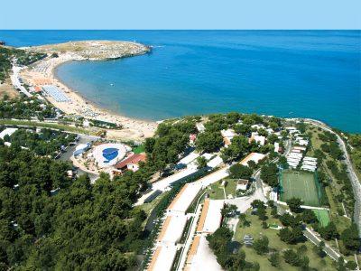 Villaggio sul mare a Vieste nel Gargano